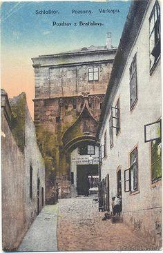 Žigmundova brána Bratislava, Old Pictures, Retro, Photography, Cities, Antique Photos, Photograph, Fotografie, Old Photos