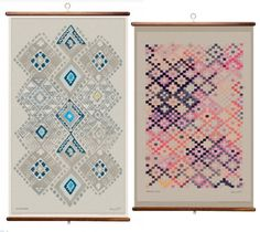 product love :: quercus & co. wall hangings seen via design*sponge.