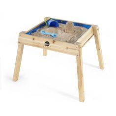 Plum's Build and Splash Wooden Sand & Water Table is perfect for encouraging little ones to enjoy sensory sand and water play. Kids Water Table, Sand And Water Table, Water Tables, Water Tray, Outdoor Play Equipment, Kids Sand, Sand Pit, Water Activities, Animal Games