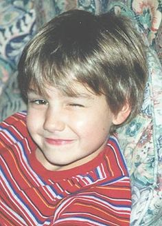 One Direction member Liam Payne childhood photo