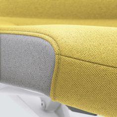 PURE INTERIOR Edition 11 #Gelb. Mehr Design für dein #HomeOffice. Mit einer vielfältigen und hochwertigen Stoffauswahl und ihrem ergonomischen Design vereint die PURE INTERIOR Edition bequemes und ergonomisches Sitzen. Das Design und die Farbgebung des PURE machen ihn zu einem optischen Leichtgewicht. Farblich abgestimmt bringt er sich in das Home Office ein und kann sich gleichzeitig zurücknehmen. #schreibtischstuhl #design #interiordesign #Stoff #ergonomie #interstuhl Home Office, Pure Home, Interiordesign, Designer, Pure Products, Fashion, Dressmaking, Yellow, Moda