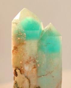 Ajoite in Quartz - #pixiecrystals - almost luminous!