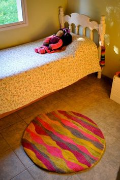 Ideas for your child's room. Felting Rugs & Carpets