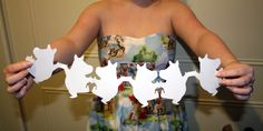my moomin paper chain