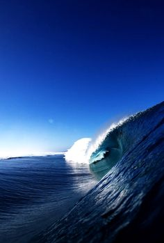 The perfect blue!  http://highenoughtoseethesea.tumblr.com/   #ocean #landscape #waves #nature