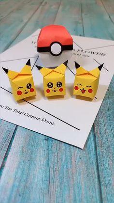 Instruções Origami, Origami Toys, Origami Simple, Paper Crafts Origami, Diy Paper, Origami Ideas, Useful Origami, Origami Animals, Diy Crafts Hacks