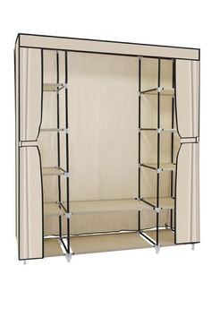 Buy the Hazlo Large Fabric Wardrobe Closet - Beige online from Takealot. Many ways to pay. Eligible for Cash on Delivery. Hassle-Free Exchanges & Returns for 30 Days. 6 Month Limited Warranty. We offer fast, reliable delivery to your door.
