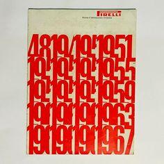 "#hiddengems (82) from AiapArchive #CDPG:""Rivista Pirelli"" cover artwork by Pino Tovaglia, art direction by Pino Tovaglia and Teresita Hangeldian, 1967 #magazine #graphicdesign #designinspiration #museodellagrafica #designweek #typography"