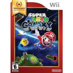 Nintendo Selects Super Mario Galaxy, Wii - Tillbehör - Teknikproffset