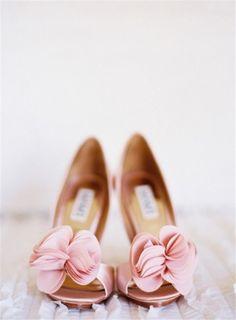 Blush Ruffle Toe Badgley Mischka Wedding Shoes Thora
