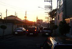 Vila Santa Isabel no horizonte da Rua Amarais, Vila Formosa Foto: Rogério de Moura