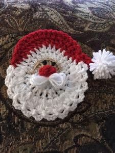 Image result for Pattern Crochet Santa Face Ornament