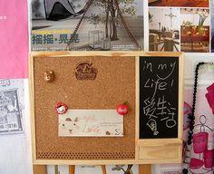1 pcs cadre en bois liège Note mémo babillard avec tableau noir punaise H33275 dans Panneau d'affichage de Fournitures de bureau et scolaire sur AliExpress.com   Alibaba Group