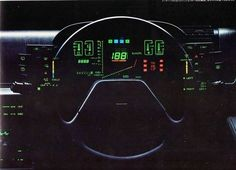 Post with 2159 votes and 89603 views. Shared by Retro Digital Dashboards (Cassette Futurism) Digital Dashboard, Dashboard Car, Car Ui, 70s Sci Fi Art, Robot Technology, Technology Gadgets, 80s Design, Found Object Art, Retro Waves