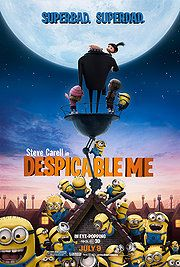 Despicable Me Director: Pierre Coffin, Chris Renaud Stars: Steve Carell, Jason Segel, Russell Brand, Julie Andrews Film Disney, Disney Movies, Disney Pixar, Great Kids Movies, Good Movies, Russell Brand, Bon Film, Film D'animation, Comedy Film