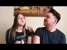 GF vs BF - Chubby Bunny Twist - YouTube