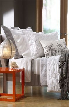Nordstrom at Home 'Box Pleat' & 'Shadow Stripe' Collections  available at #Nordstrom