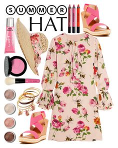 """""""summer"""" by ecem1 ❤ liked on Polyvore featuring Gucci, Liliana, Urban Decay, Terre Mère, Bobbi Brown Cosmetics, Beauty Rush and summerhat"""