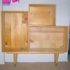 wine crate storage unit