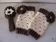 Crochet Lacey Leg Warmers/Leggings & by Sparkleyexpressions