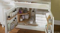 under the sink bathroom storage solution #organizing