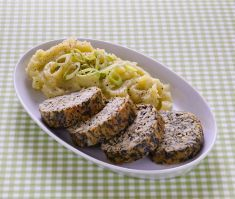 Polpettone di tempeh e spinaci con purè di cavolo cappuccio - Tutte le ricette dalla A alla Z - Cucina Naturale - Ricette, Menu, Diete
