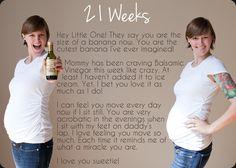 21 Week Pregnancy Photo