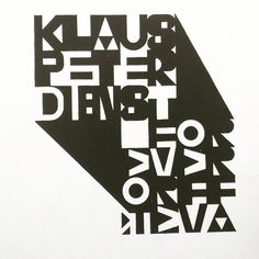 """""""Klaus Peter Dienst, Carmina Burana: Kalligraphische Textkomposition, 1962"""""""