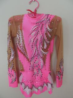 Competition Rhythmic Gymnastics Leotard on Etsy, $300.00 Christmas - if she is still doing gymnastics :)