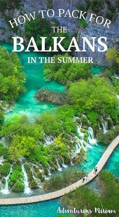 The ultimate female packing list for the Balkans | http://adventurousmiriam.com/my-packing-list-for-the-balkans/