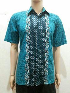 Kemeja batik katun primis batik solo 75000 idr