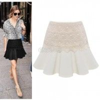 2014 Spring and Summer New Women Solid Lace Pencil Skirt OL Ladies High Waist