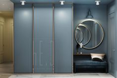 Best Apartment Door Entrance Design Ideas You are in the right place about entrance facade Here we offer you the most beautiful pictures about the entrance storage you are looking for. Hall Wardrobe, Wardrobe Door Designs, Wardrobe Doors, Closet Designs, Closet Doors, Door Design Interior, Entrance Design, Hall Design, Apartment Interior Design