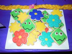 Cookies at a  Tangled Party #tangled #partycookies