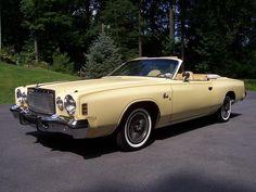 "I saw a Chrysler Cordoba convertible yesterday.  Despite myself, I just had to say, ""fine Corinthian leather..."""