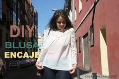 DIY Costura chiffon e rendas blusa mulheres padrões livres