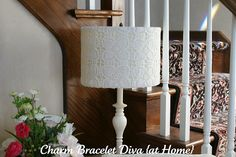 : Copy That: Pier 1 Imports Lace Lampshade Knock-Off