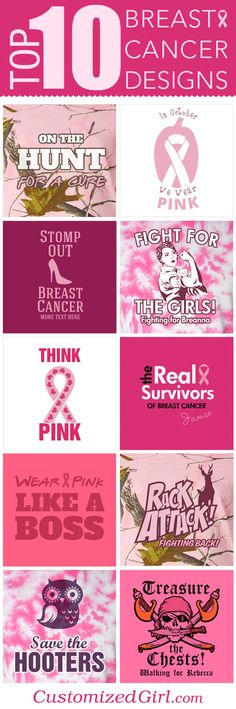 Top Ten Breast Cancer Awareness Sayings and Slogans #breastcancer #breastcancerawarenes #sayings #slogans