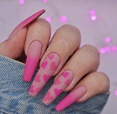 Image shared by Find images and videos about pink, nails and unhas on We Heart It - the app to get lost in what you love. Summer Acrylic Nails, Best Acrylic Nails, Summer Nails, Pink Acrylic Nail Designs, Spring Nails, Nagellack Design, Fire Nails, Manicure E Pedicure, Manicure Ideas