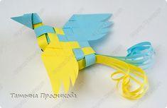 Master-class de Artesanato PRODUTO Tecelagem Wicker birdies Photo Paper 24