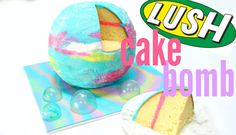 DIY Edible LUSH 'Intergalactic' BATH BOMB!- CAKE STYLE