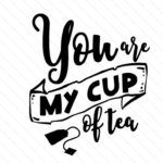 Download the You are my cup of tea design and hundreds of other designs now on Creative Fabrica. Get instant access and start right away.