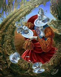 25 Absurdity Illusion Paintings by Michael Cheval - Master of Imagination | Read full article: http://webneel.com/25-absurdity-illusion-paintings-michael-cheval-master-imagination | more http://webneel.com/paintings | Follow us www.pinterest.com/webneel
