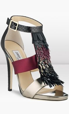 Jimmy Choo....love colors, design, texture.....perfect