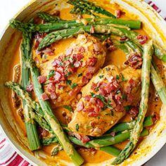 Kurczak w sosie z suszonymi pomidorami Grilling Recipes, Diet Recipes, Healthy Recipes, Thanksgiving Dinner Recipes, Fast Dinners, Brunch, Everyday Food, Winter Food, Tasty Dishes