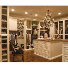 Master Closet dressing room