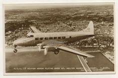 RP #Postcard c#1950 #BEA #Jersey #CI #Aviation #heron #Plane #flying #Helier #Harbour #Vintage Heron, Royal Mail, Vintage Postcards, Aviation, British, Ebay, Vintage Travel Postcards, Herons, Aircraft