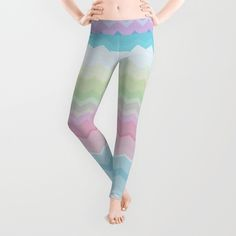 Rainbow pattern Leggings