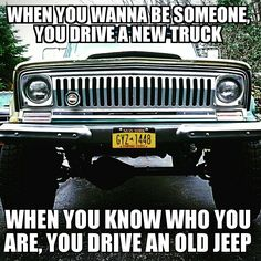 Jeeps and Jeep Girls. Some NSFW. Some pics and vids are my personal ones, but most pics are from the net so if its yours or copyrighted let me know and it will be removed. Jeep Wrangler Yj, Jeep Xj, Jeep Pickup, Jeep Cars, Jeep Truck, Jeep Wrangler Unlimited, Jeep Quotes, Car Quotes, Jeep Humor