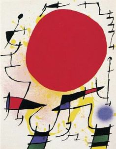 joan miro paintings and meanings | Joan Miro Famous Oil Paintings Art Reproduction on Canvas